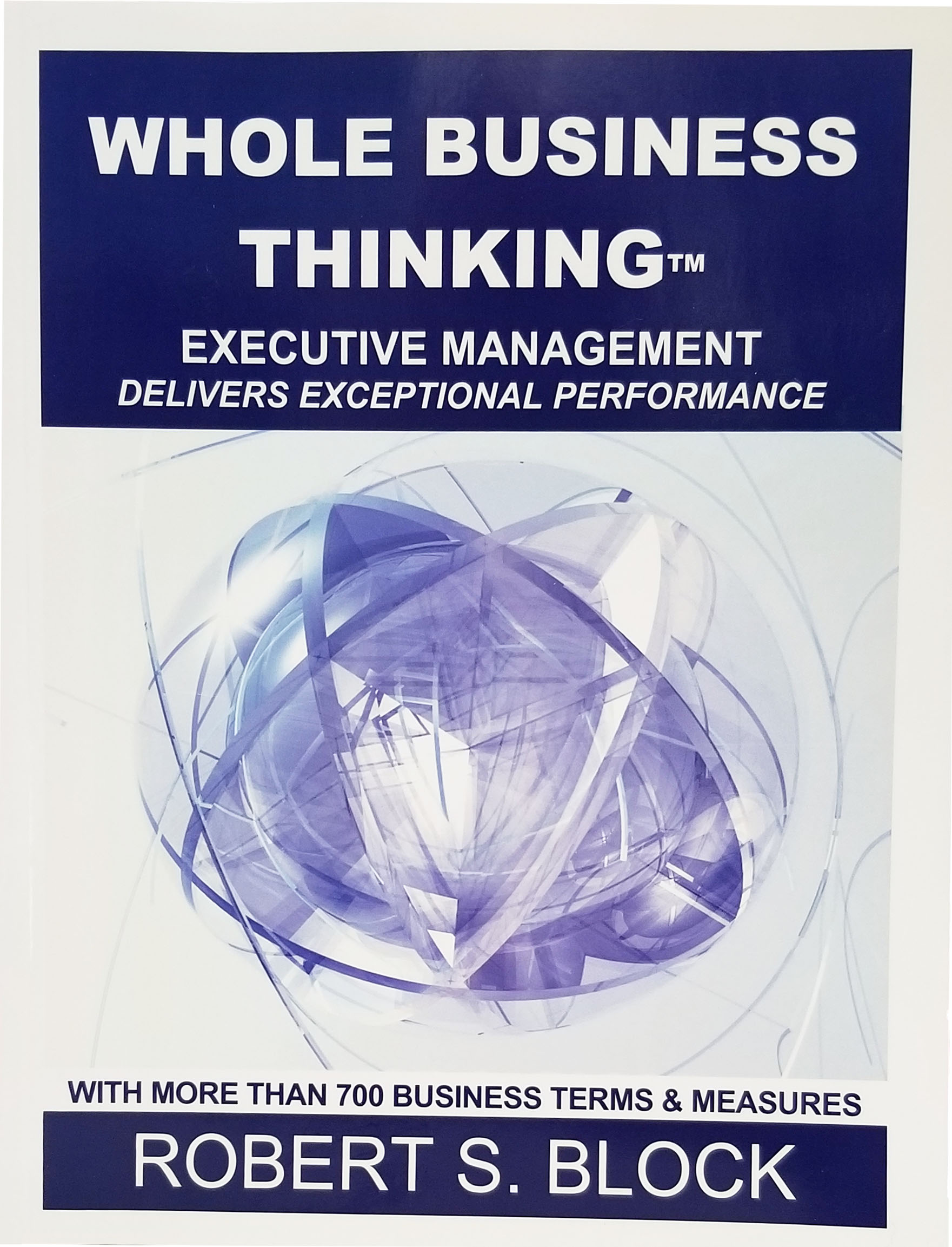Whole Business Thinking book cover